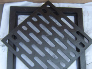 grate and frame set